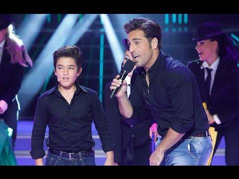 Samuel imita a David Bustamante en Tu cara me suena Mini