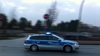 Einsatzfahrten #43 - FuStW Polizei mit Dauerhorn