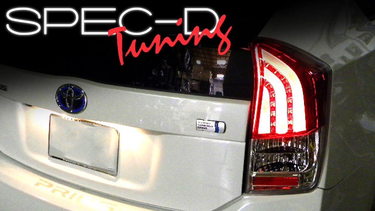 specdtuning installation video 2010 up toyota prius led tail lights Crown LED Tail Lights specdtuning installation video 2010 up toyota prius led tail lights youtube