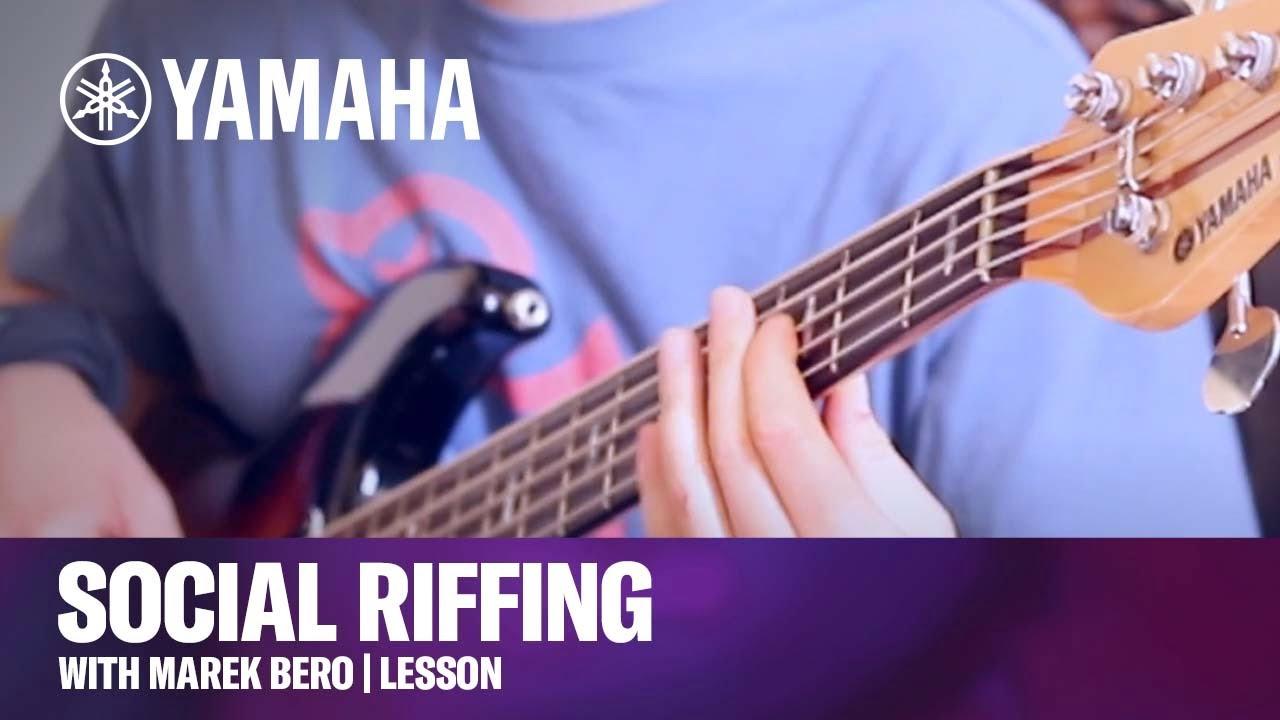Social Riffing with Marek Bero | Lesson