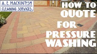 How To Quote F๐r Pressure Washing