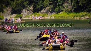Spływ pontonowy Dunajcem video