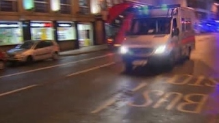 Raw: Police Respond to Incident on London Bridge
