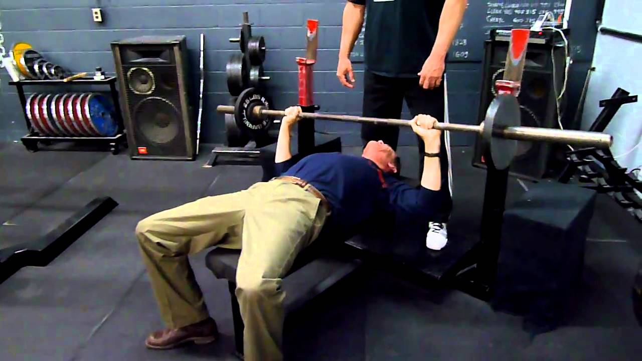 William 95 Lbs X 8 Reps Bench Press Youtube