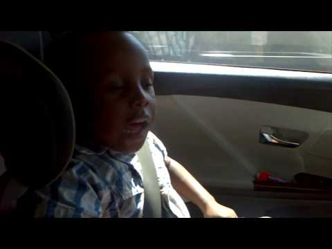 4 Year Old Catches The Spirit Singing Mali Music Yahweh