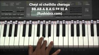 Pacha Bottesina - Piano Tutorials - Baahubali | DOWNLOAD NOTES FROM DESCRIPTION