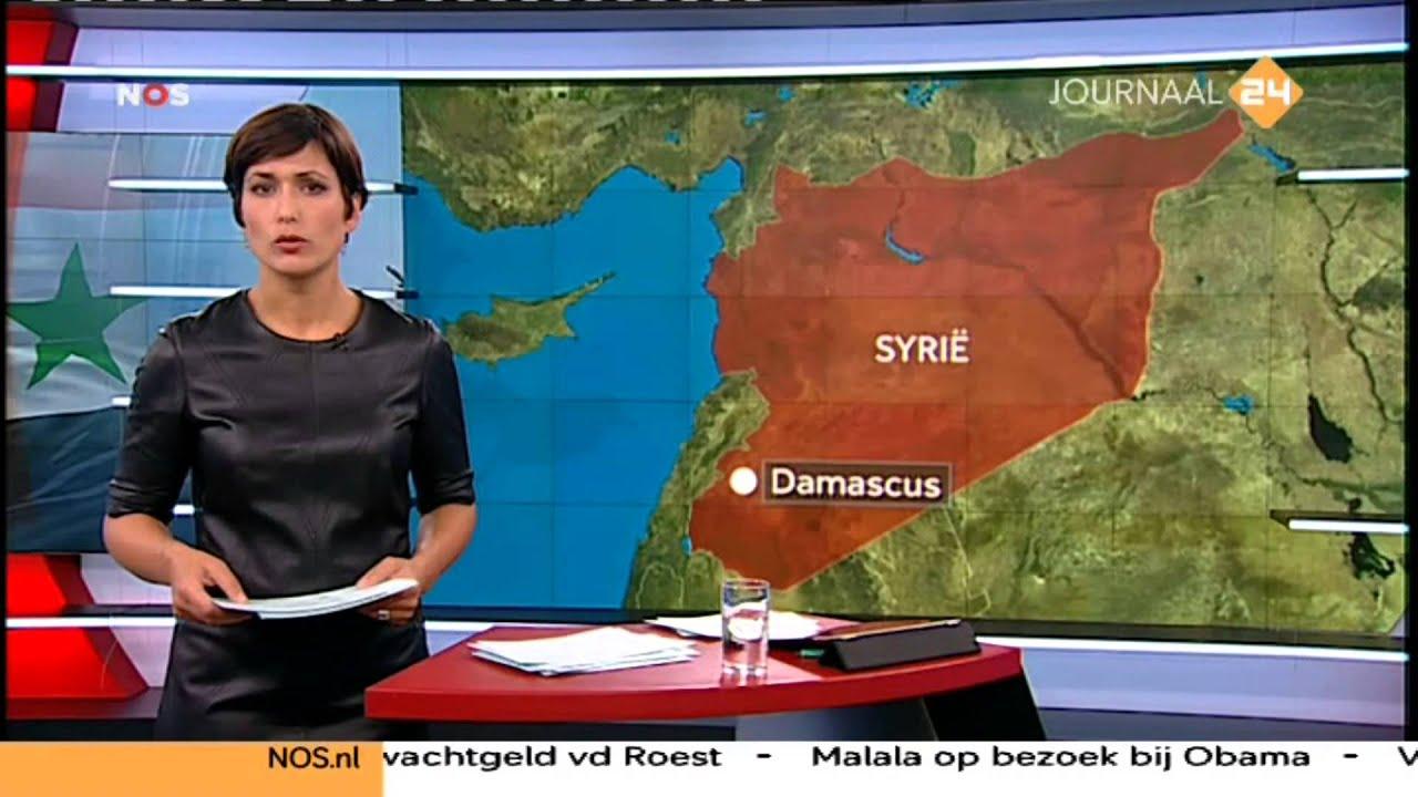 Nieuwslezeres Annechien Steenhuizen In Leren Jurk Youtube