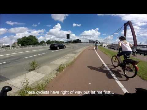 #GoPro scooter cam/ride through Rotterdam - #Ep.3