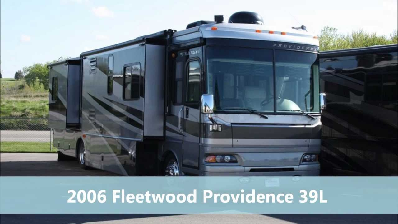 Motorhomes For Sale By Owner >> 2006 Fleetwood Providence 39L Diesel Pusher Motorhome for Sale - YouTube