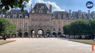 L'histoire de la Place des Vosges