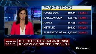 Breaking: DOJ to open broad antitrust review of big tech companies