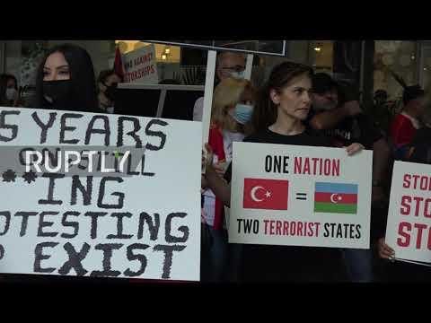 Australia: Members of Armenian community in Sydney march in support of homeland