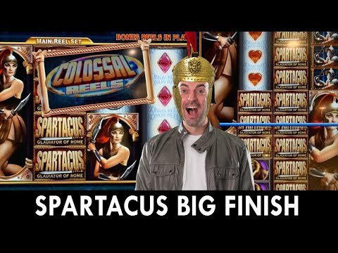 ⚔ VICTORIOUS Spartacus Comeback 🛡 $15/SPIN On Super Bucks 💸 Classic Slot Games 🎰