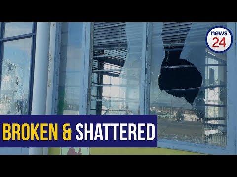 WATCH: Protesting residents vandalise hall in Khayelitsha
