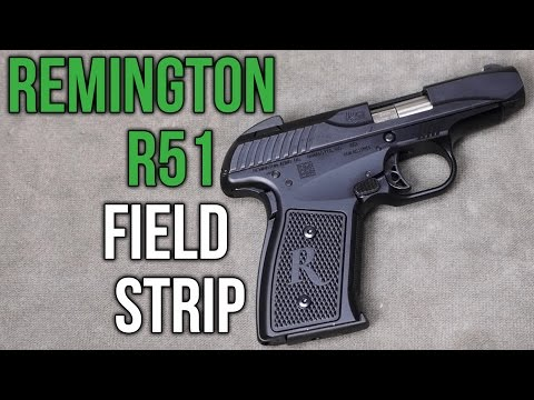 Remington R51 Field Strip