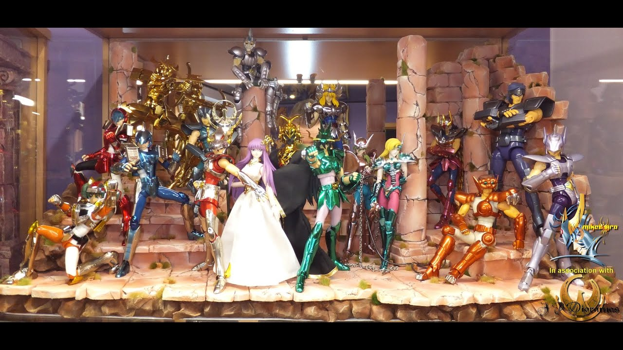 Saint seiya myth cloth la collection de miketigra nouveau d cor pour ath na et les bronzes - Decor saint seiya myth cloth ...