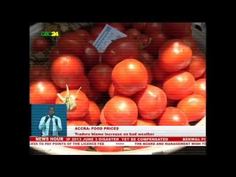 Accra: Traders blame increase of food prices on bad weather