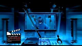 Сцена из фильма Обитель зла/Resident Evil (2002), вступление