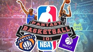 NBA FANTASY BASKETBALL 101 | How To Play Fantasy Basketball 2017