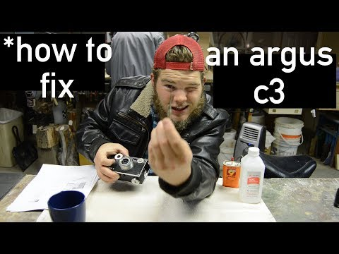 How To FIX An Argus C3!