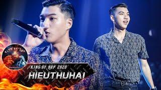 Rapper hotboy HIEUTHUHAI khuấy đảo tập 1 King Of Rap với hit 'Cua' siêu cool ngầu ăn ngay 4 chọn
