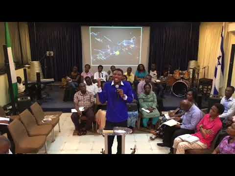 Babs Adewunmi.( The Tribe of the Man Child ) September 26, 2017. Times & Seasons Prophetic Gathering