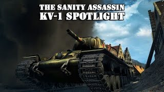 World of Tanks KV-1 Spotlight with The Sanity Assassin