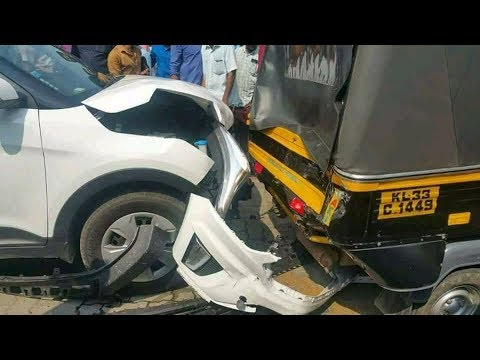 ape auto rickshaw safer than creta? creta v/s ape auto live crash test