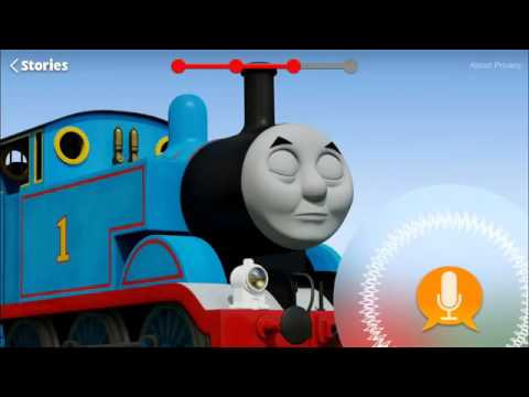 Thomas and Friends Talk To You    Up All Night Story