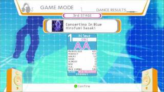 DDR Universe 3 - Concertino in Blue (Oni) AA