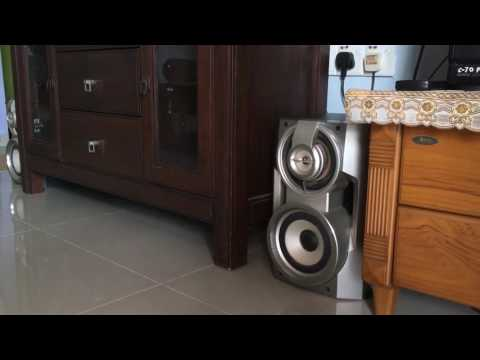 Aiwa Midi Hifi zvm290 tornado bass