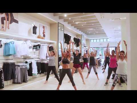 Ballet Bootcamp at Calvin Klein April 2017