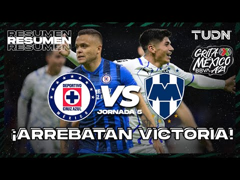 Cruz Azul Monterrey Goals And Highlights