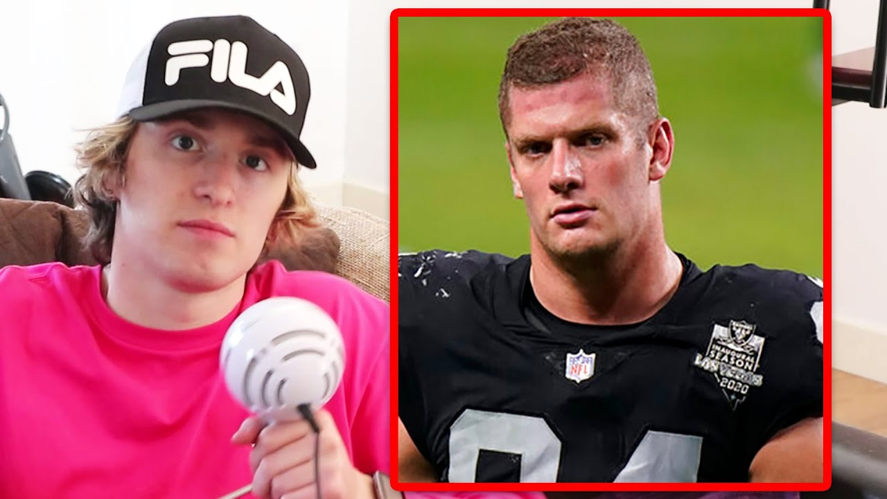 NFL player Carl Nassib made history by coming out, then led his ...