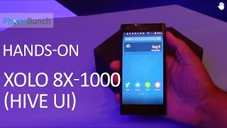 XOLO 8X-1000 with HIVE UI Hands-on