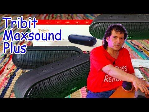 Tribit Maxsound Plus Review vs JBL Flip 5 and Denon dsb-250bt