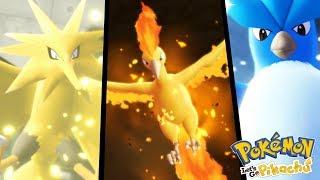 COMO CAPTURAR MOLTRES, ARTICUNO E ZAPDOS?! | Pokemon Let's GO PIKACHU (FIM?)