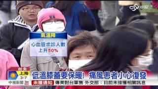 氣溫驟降! 心血管疾病患者多五成│中視新聞20151126