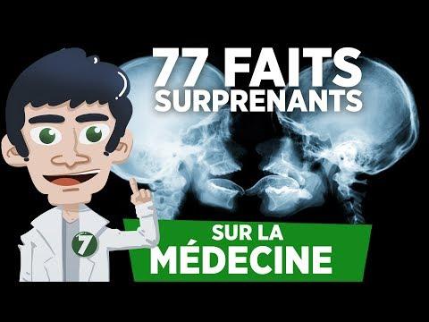 77 FAITS SURPRENANTS SUR LA MÉDECINE !! - Doc Seven