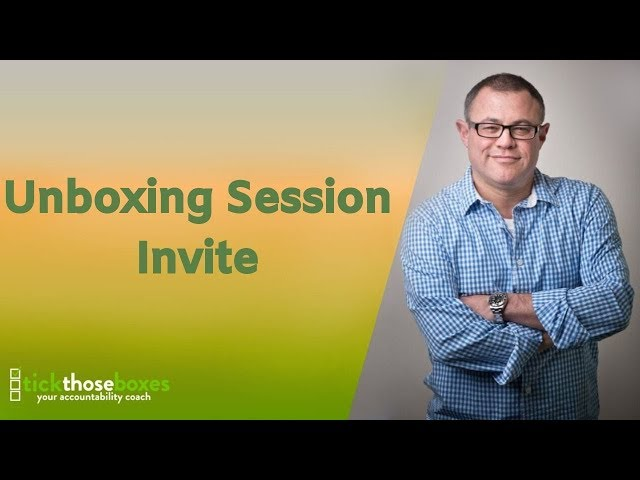 Unboxing Session website invite