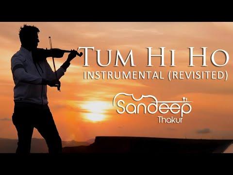 TUM HI HO | Aashiqui 2 | Instrumental (REVISITED) Sandeep Thakur, Studio Unplugged, Vashisth Trivedi