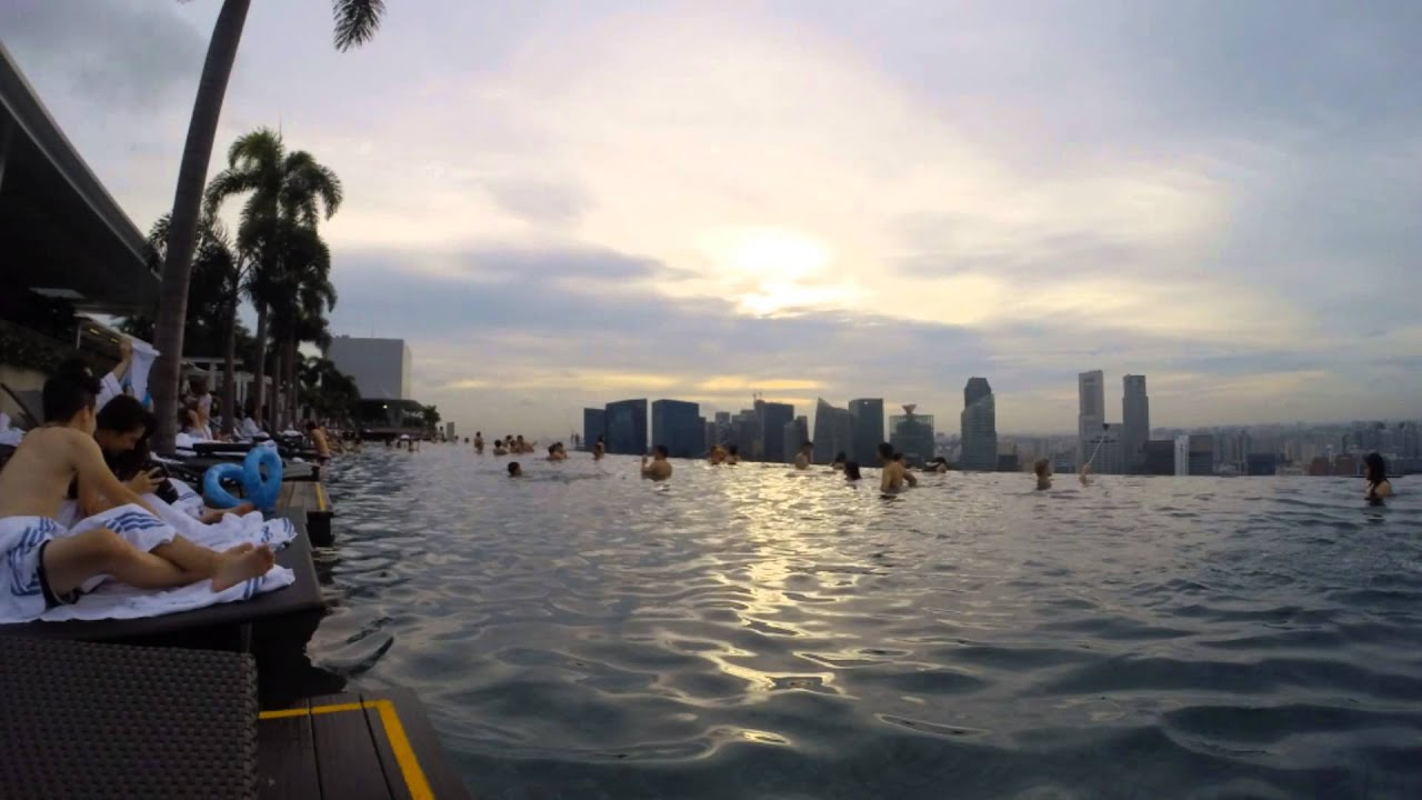how to get into marina bay sands pool