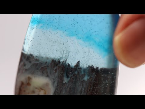 Resin Craft - Underwater Rocky Scene with DIY mould