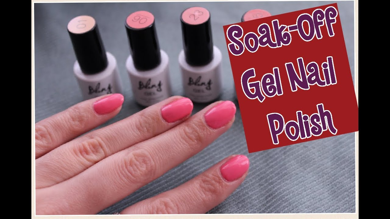 How To Ly Soak Off Gel Nail Polish For Beginners