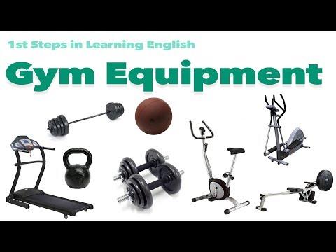English Vocabulary - GYM EQUIPMENT