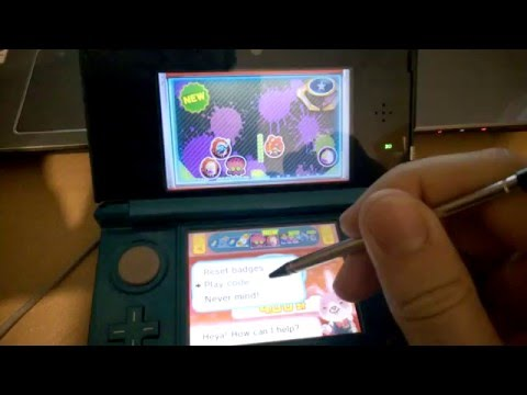 Inserting free code for Nintendo Badge Arcade