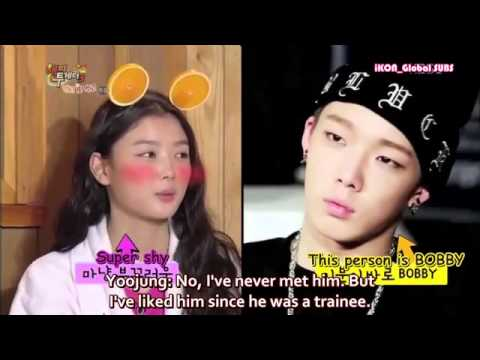 [ENG SUB] Kim Yoojung talks about iKON Bobby