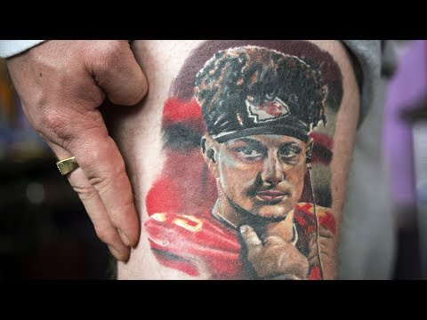 George Spankmeister - Patrick Mahomes fans are getting tattoos!