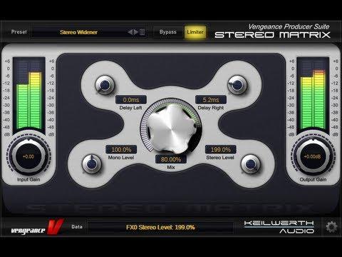 Vengeance Producer Suite - Essential FX Bundle - Stereo Matrix by  Vengeance-Sound