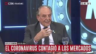 11-03-2020 - Carlos Heller en C5N - Minuto Uno, con Gustavo Sylvestre – #Coronavirus #Economía